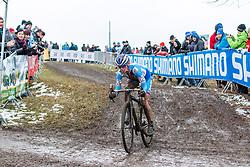 Katerina Nash (CZE), Women Elite, Cyclo-cross World Championships Tabor, Czech Republic, 31 January 2015, Photo by Pim Nijland / PelotonPhotos.com