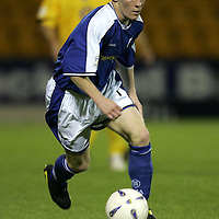 Mark Baxter, St Johnstone FC   Season 04-05<br /><br />Picture by Graeme Hart.<br />Copyright Perthshire Picture Agency<br />Tel: 01738 623350  Mobile: 07990 594431