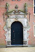 Doorway to Weeshuis orphanage, Enkhuizen, Netherlands