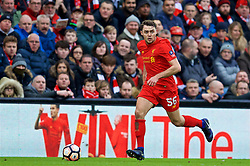 LIVERPOOL, ENGLAND - Saturday, January 28, 2017: Liverpool's Connor Randall in action against Wolverhampton Wanderers during the FA Cup 4th Round match at Anfield. (Pic by David Rawcliffe/Propaganda)