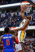 NBA Basketball - Indiana Pacers vs Detroit Pistons - Indianapolis, In