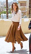Queen Rania Visits Caritas Jordan