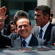 Mr Berlusconi at Med Forum