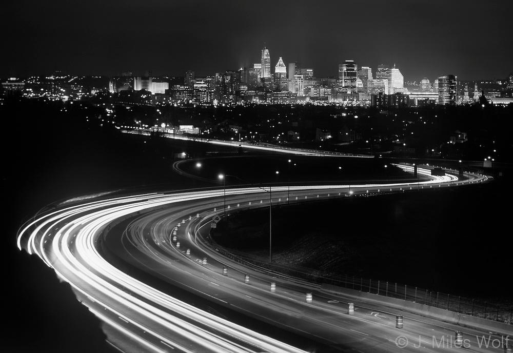Black and White Cincinnati