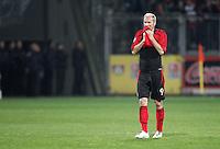 Fussball  UEFA Pokal  Viertelfinale  Hinspiel   Saison 2006/2007 Bayer 04 Leverkusen - CA Osasuna                Sergej BARBAREZ (Leverkusen) enttaeuscht
