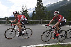 June 15, 2017 - Locarno / La Punt, Suisse - DE CLERCQ Bart of Lotto Soudal, MARCZYNSKI Tomasz of Lotto Soudal during stage 6 of the Tour de Suisse cycling race, a stage of 166 kms between Locarno and La Punt on June 15, 2017 in La Punt, Switserland, 15/06/2017 (Credit Image: © Panoramic via ZUMA Press)