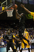 Jalen Jones(12) Texas A&M goes up for a layup. LSU defeats Texas A&M 76-71 in Baton Rouge, Louisiana. Photo BY: Jerome Hicks/ Space City Images