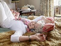 Senior Woman Relaxing