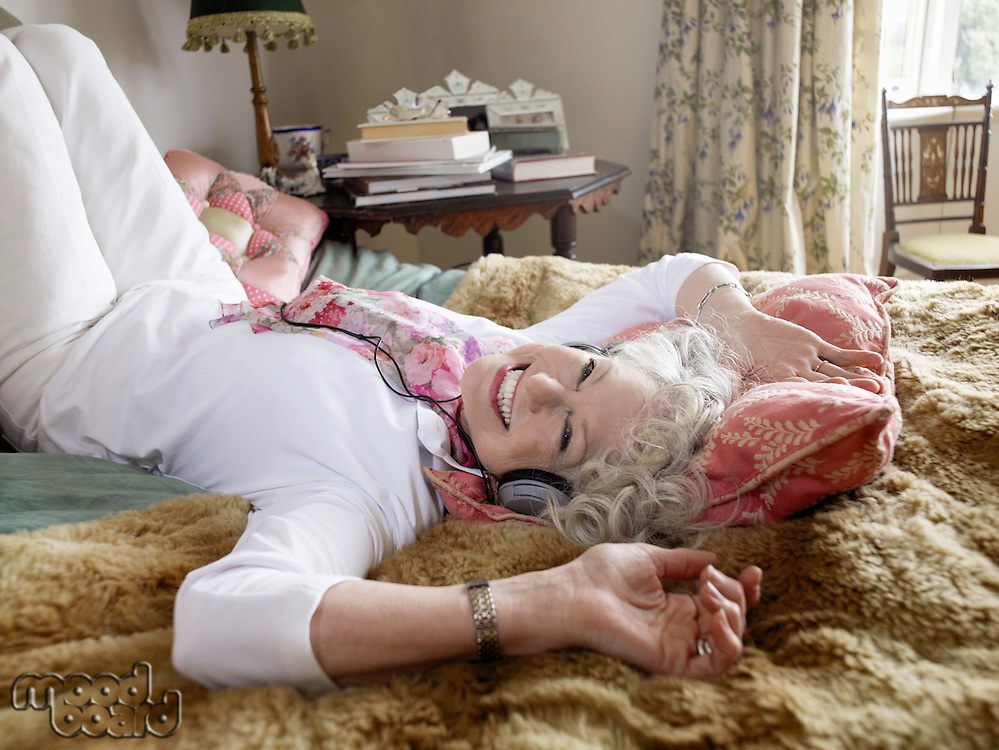Senior Woman Relaxing