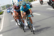 Andrei Grivko (UKR - Astana Pro Team) during the Tour of Guangxi 2018, stage 1, Beihai - Beihai 107,4 km on October 16, 2018 in Beihai, China - Photo Luca Bettini / BettiniPhoto / ProSportsImages / DPPI