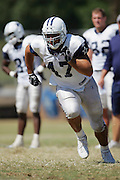 OXNARD, CA - AUGUST 8:  Tight end Anthony Fasano #47 (second round pick in the 2006 NFL draft) of the Dallas Cowboys goes out for a pass during the Dallas Cowboys training camp on August 8, 2006 in Oxnard, California. ©Paul Anthony Spinelli *** Local Caption *** Anthony Fasano