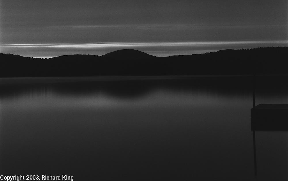 The Dock At Midnight, Long Lake