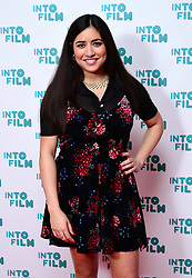 Rhianna Dillon attending the fifth annual Into Film Awards, held at the Odeon Luxe in Leicester Square, London.