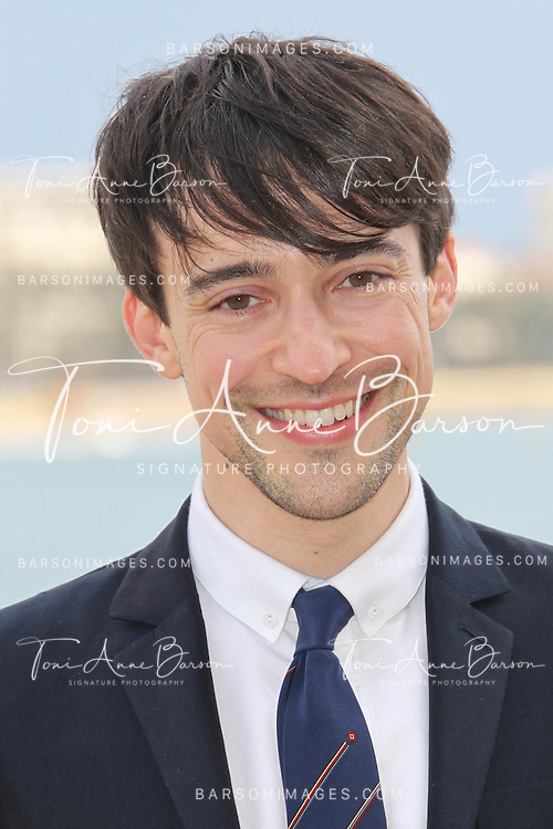 CANNES, FRANCE - APRIL 08:  Blake Ritson attends photocall for the TV serie 'Da Vinci's Demons' at MIP TV 2013 on April 8, 2013 in Cannes, France.  (Photo by Tony Barson/Getty Images)
