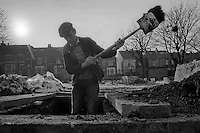 Gravediggers City Road Cemetery Sheffield Parks Department  12-02-1985.