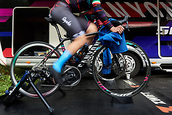 Elena Cecchini (ITA) warms up for UCI Road World Championships 2018 - Women's Team Time Trial, a 54 km team time trial in Innsbruck, Austria on September 23, 2018. Photo by Sean Robinson/velofocus.com