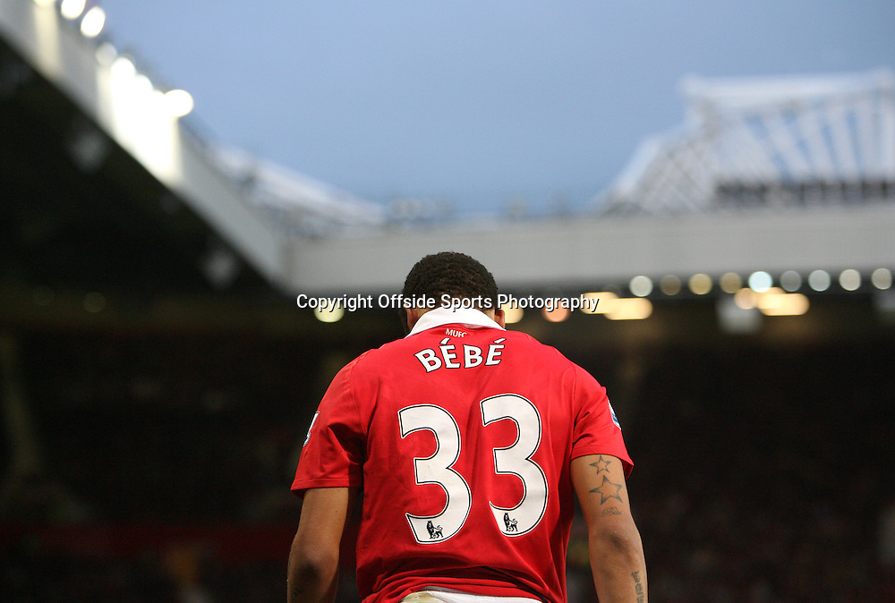 06/11/2010 - Manchester United vs. Wolverhampton Wanderers - Bebe of Man Utd - Photo: Simon Stacpoole / Offside.
