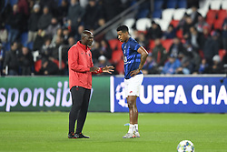 November 6, 2019, Paris, FRANCE: Zoumana CAMARA (entraineur adjoint PSG) - 03 PRESNEL KIMPEMBE (PSG) - ECHAUFFEMENT (Credit Image: © Panoramic via ZUMA Press)