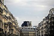 Frankrijk, Parijs, 28-3-2010Gebouwen bij de Opera, Hotel Du Louvre. Exterieur.Foto: Flip Franssen/Hollandse Hoogte