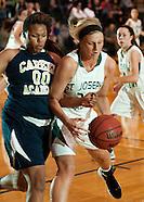 St. Joseph's Academy vs Miller Career Academy girls' basketball