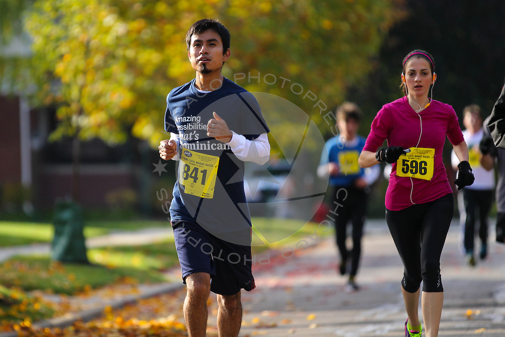 2014 Frank Lloyd Wright Races in Oak Park, Ill. Sunday, October 19, 2014.