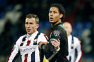 Onderwerp/Subject: Willem II - FC Groningen - Eredivisie<br /> Reklame:  <br /> Club/Team/Country: <br /> Seizoen/Season: 2012/2013<br /> FOTO/PHOTO: Tim CORNELISSE (L) of Willem II and Virgil VAN DIJK (R) of FC Groningen. (Photo by PICS UNITED)<br /> <br /> Trefwoorden/Keywords: <br /> #09 $94 ±1355238911262 ±1355238911262<br /> Photo- & Copyrights © PICS UNITED <br /> P.O. Box 7164 - 5605 BE  EINDHOVEN (THE NETHERLANDS) <br /> Phone +31 (0)40 296 28 00 <br /> Fax +31 (0) 40 248 47 43 <br /> http://www.pics-united.com <br /> e-mail : sales@pics-united.com (If you would like to raise any issues regarding any aspects of products / service of PICS UNITED) or <br /> e-mail : sales@pics-united.com   <br /> <br /> ATTENTIE: <br /> Publicatie ook bij aanbieding door derden is slechts toegestaan na verkregen toestemming van Pics United. <br /> VOLLEDIGE NAAMSVERMELDING IS VERPLICHT! (© PICS UNITED/Naam Fotograaf, zie veld 4 van de bestandsinfo 'credits') <br /> ATTENTION:  <br /> © Pics United. Reproduction/publication of this photo by any parties is only permitted after authorisation is sought and obtained from  PICS UNITED- THE NETHERLANDS
