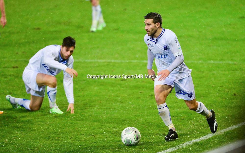 Karim DJELLABI   - 19.12.2014 - Auxerre / Niort - 18e journee Ligue 2<br /> Photo : Dave Winter / Icon Sport