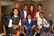 L-R front row: Yara Shahidi, Miles Brown, Marsai Martin; back row: Marcus Scribner, Anthony Anderson, Jenni Luke, CEO, Step Up Women's Network and Tracee Ellis Ross