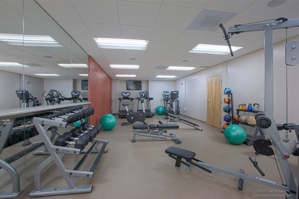 Interior Image of Bald Eagle Recreation Center in Washington DC by Jeffrey Sauers of Commercial Photographics