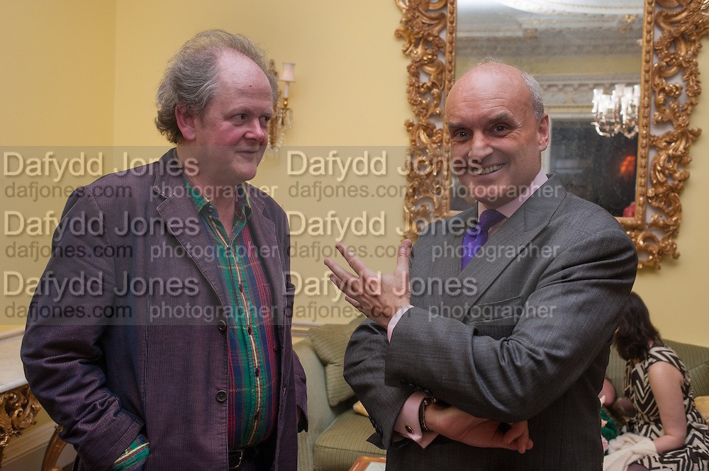 CRAIG BROWN; NICHOLAS COLERIDGE; , Tatler magazine Jubilee party with Thomas Pink. The Ritz, Piccadilly. London. 2 May 2012
