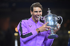 Rafael Nadal Wins 4th Title - 8 Sep 2019