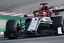 March 1, 2019 - Barcelona, Catalonia, Spain - March 1st, 2019 - Circuit de Barcelona-Catalunya, Montmelo, Spain - Formula One preseason 2019;  Kimi Raikkonen of Alfa Romeo Racing during the afternoon session of the day 8. (Credit Image: © Marc Dominguez/ZUMA Wire)