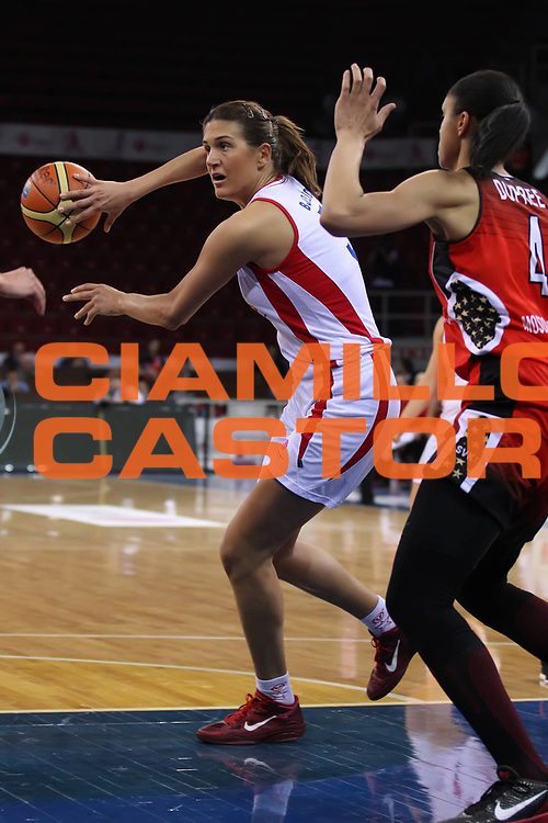 DESCRIZIONE : Istanbul Fiba Europe Euroleague Women 2011-2012 Final Eight Wisla Can-Pack Spartak M.R. VIdnoje<br /> GIOCATORE : Milka Bjelica<br /> SQUADRA : Wisla Can-Pack <br /> EVENTO : Euroleague Women<br /> 2011-2012<br /> GARA : Wisla Can-Pack Spartak M.R. VIdnoje<br /> DATA : 28/03/2012<br /> CATEGORIA : <br /> SPORT : Pallacanestro <br /> AUTORE : Agenzia Ciamillo-Castoria/ElioCastoria<br /> Galleria : Fiba Europe Euroleague Women 2011-2012 Final Eight<br /> Fotonotizia : Istanbul Fiba Europe Euroleague Women 2011-2012 Final Eight Wisla Can-Pack Spartak M.R. VIdnoje<br /> Predefinita :