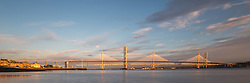 Forth Road Bridge Panoramic sunrise (c) Ross Eaglesham| Edinburgh Elite media