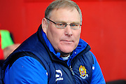 Dagenham & Redbridge manager John Still during the Sky Bet League 2 match between Exeter City and Dagenham and Redbridge at St James' Park, Exeter, England on 2 January 2016. Photo by Graham Hunt.