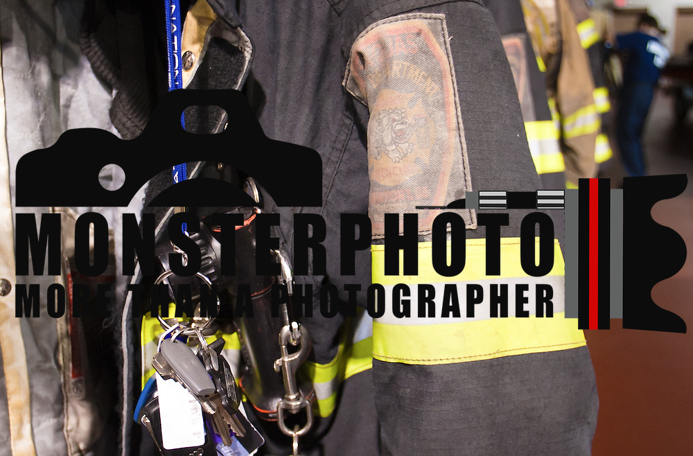Minquas fire equipment hanging at Minquas fire rescue company Thursday, June 23, 2011, at Minquas fire rescue company in Newport Delaware.<br /> <br /> Special to Monsterphoto/SAQUAN STIMPSON
