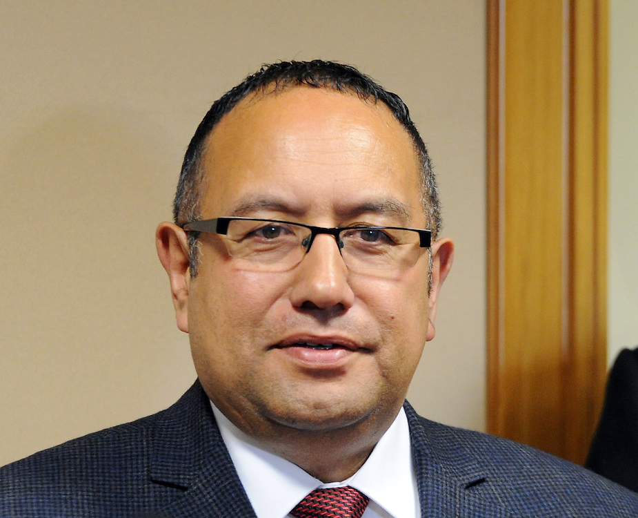 Labour MP Adrian Rurawhe, Parliament, Wellington, New Zealand, Tuesday, September 23, 2014. Creedit:SNPA / Ross Setford