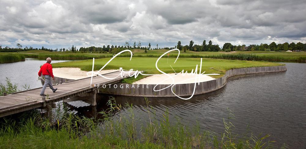 ZEEWOLDE - Golfclub Harderwold. Hole 8.  COPYRIGHT KOEN SUYK