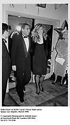 Dodi Fayed  at Swifty Lazar's Oscar Night party. Spago. Los Angeles. March 1990.<br /><br />© Copyright Photograph by Dafydd Jones<br />66 Stockwell Park Rd. London SW9 0DA<br />Tel 0171 733 0108<br />Film. 90233/14