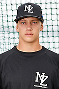 Kyle Glogoski.<br /> New Zealand Diamond Blacks Baseball Team headshots.<br /> Llloyd Elsmore Park, Pakuranga, Auckland, New Zealand. 4 February 2016.<br /> Copyright photo: Andrew Cornaga / www.photosport.nz