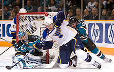20100106 - St. Louis Blues at San Jose Sharks (NHL Hockey)