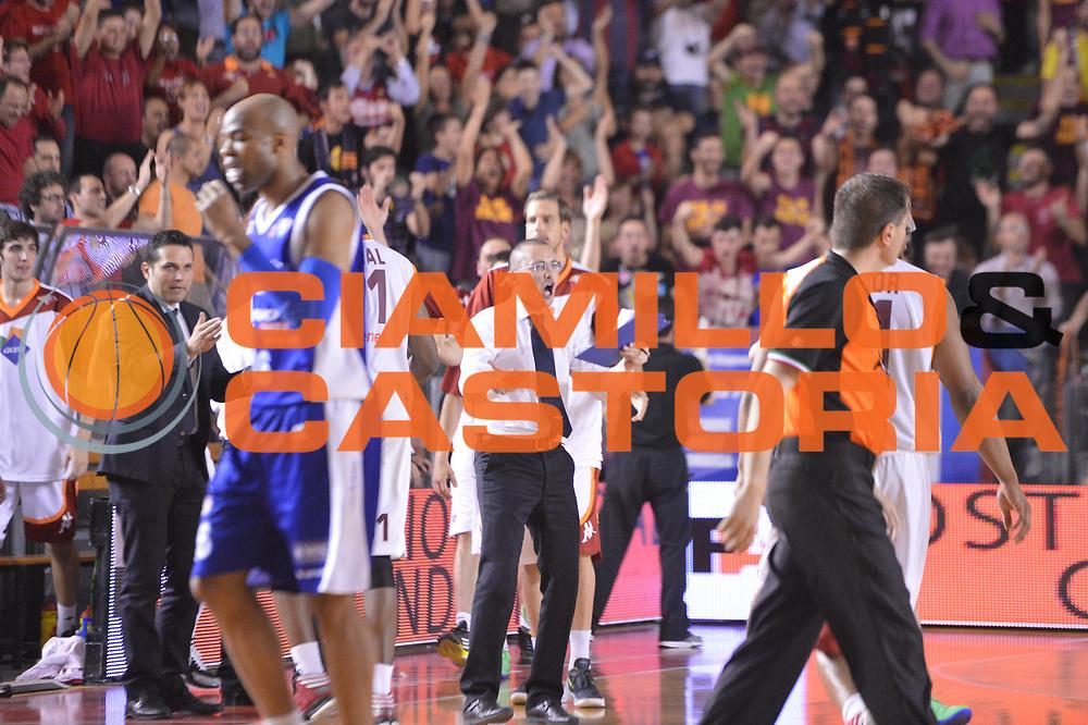 DESCRIZIONE : Roma Lega A 2012-2013 Acea Roma Lenovo Cantu playoff semifinale gara 7<br /> GIOCATORE : Massimo Maffezzoli<br /> CATEGORIA : Esultanza<br /> SQUADRA : Acea Roma<br /> EVENTO : Campionato Lega A 2012-2013 playoff semifinale gara 7<br /> GARA : Acea Roma Lenovo Cantu<br /> DATA : 06/06/2013<br /> SPORT : Pallacanestro <br /> AUTORE : Agenzia Ciamillo-Castoria/GiulioCiamillo<br /> Galleria : Lega Basket A 2012-2013  <br /> Fotonotizia : Roma Lega A 2012-2013 Acea Roma Lenovo Cantu playoff semifinale gara 7<br /> Predefinita :