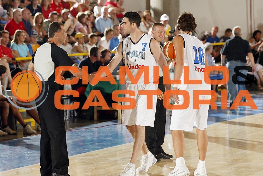 DESCRIZIONE : Bormio Trofeo Internazionale Diego Gianatti Italia Serbia <br /> GIOCATORE : Soragna Arbitro<br /> SQUADRA : Italia <br /> EVENTO : Bormio Trofeo Internazionale Diego Gianatti Italia Serbia <br /> GARA : Italia Serbia<br /> DATA : 22/07/2006 <br /> CATEGORIA :   <br /> SPORT : Pallacanestro <br /> AUTORE : Agenzia Ciamillo-Castoria/G.Cottini<br /> Galleria : FIP Nazionale Italiana <br /> Fotonotizia : Bormio Trofeo Internazionale Diego Gianatti Italia Serbia<br /> Predefinita :