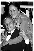 Brooke Hayward and Joseph Cotton, Jean Howard Book party. Los Angeles. 1989.  . © Copyright Photograph by Dafydd Jones 66 Stockwell Park Rd. London SW9 0DA Tel 020 7733 0108 www.dafjones.com