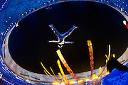8/24/08 9:43:54 PM -- The 2008 Beijing Summer Olympics -- , China<br />  -- A performer is hoisted in the air during Closing Ceremonies for the Beijing Olympic Summer Games -- <br /> <br /> <br /> Photo by Jeff Swinger, USA TODAY Staff