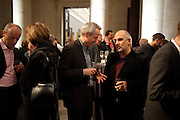 ANDREW NAIRNE; ALAN YENTOB, Turner Prize 2010. Tate Britain. Millbank. London. 6 December 2010. -DO NOT ARCHIVE-© Copyright Photograph by Dafydd Jones. 248 Clapham Rd. London SW9 0PZ. Tel 0207 820 0771. www.dafjones.com.