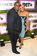 7 February-Washington, D.C: (L-R) Music Executive Vincent  Herbert and Recording Artist/Reality TV Personality Tamar Braxton attends the BET Honors Honoree Dinner held at the National Museum of Women in the Arts on February 7, 2014 in Washington, D.C.  (Terrence Jennings)