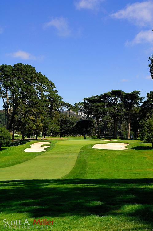 San Francisco -- Aug. 19, 2007 --  Hole No. 6 on the Lake Course at the Olympic Club in San Francisco...©2007 Scott A. Miller