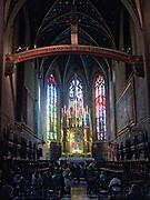 Kościół św. Franciszka w Krakowie, Polska.<br /> St Franciszek church in Cracow, Poland.
