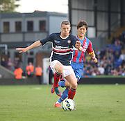Jim McAlister and Chung-yong Lee - Crystal Palace v Dundee - Julian Speroni testimonial match at Selhurst Park<br /> <br />  - © David Young - www.davidyoungphoto.co.uk - email: davidyoungphoto@gmail.com